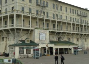 This is the place where visitors disembark from the Alcatraz Cruise boat and are welcomed by the NPS guides.