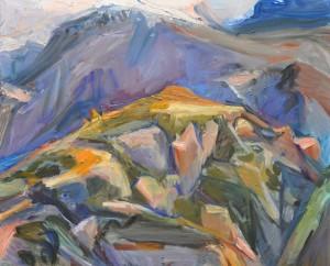 Winter—Raven's Nest Peak by Jane Culp