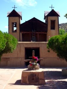El Sanctuario de Chimayo in July, 2016
