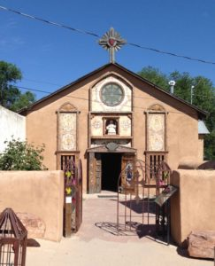 The adjacent worship center that focuses on children: Chimayo Santo Nino de Atocha 1857
