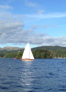 On beautiful Lake Windermere