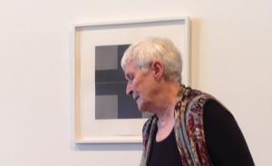 Max Cole at Gallery Talk in Santa Fe, October, 2015