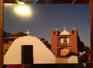 The Catholic church at the Taos Pueblo